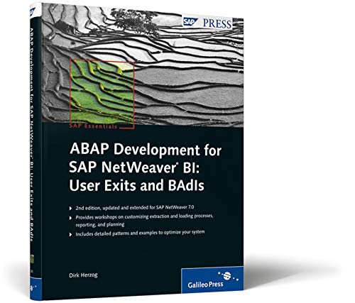 ABAP Development for SAP NetWeaver BI: User Exits and BAdIs: SAP Essentials #56