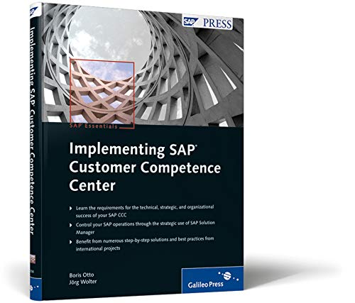 9781592292585: Implementing SAP Customer Competence Center