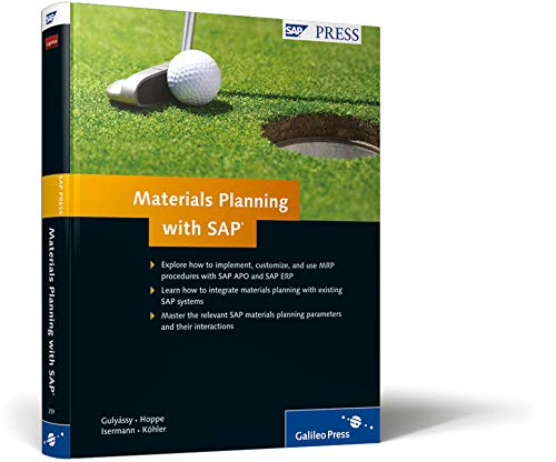 9781592292592: Materials Planning with SAP: SAP ERP and SAP APO