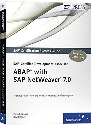9781592292707: SAP Certified Development Associate -- ABAP with SAP NetWeaver