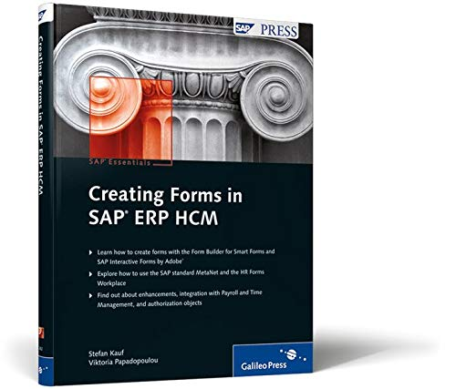 9781592292820: Creating Forms in SAP ERP HCM
