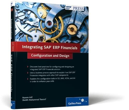 9781592293001: Integrating SAP ERP Financials: Configuration and Design