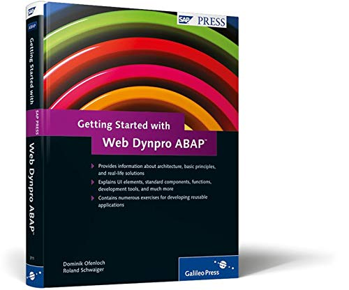 9781592293117: Getting Started with Web Dynpro ABAP: An Introduction