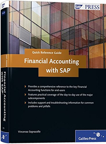 Quick Reference Guide to Financial Accounting with: V. Sopracolle