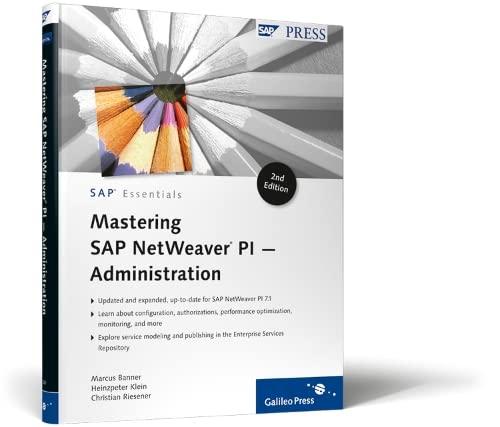 9781592293216: Mastering SAP NetWeaver PI - Administration