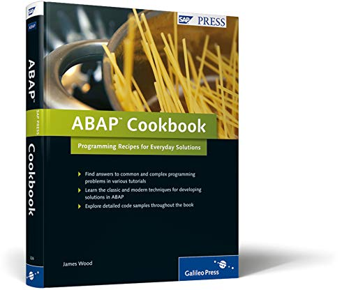 9781592293261: ABAP Cookbook: Programming Recipes for Everyday Solutions, SAP ABAP