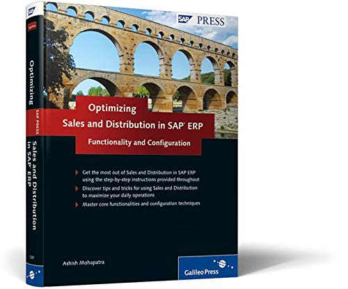 9781592293292: Sales and Distribution in SAP ERP: Functionality and Configuration