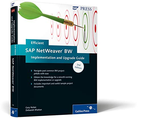 9781592293360: Efficient SAP NetWeaver BW Implementation and Upgrade Guide