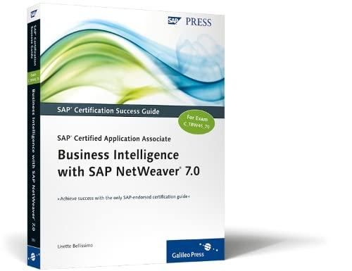 9781592293537: SAP Certified Application Associate: SAP NetWeaver BW 7.0
