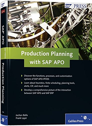 9781592293544: Production Planning with SAP APO
