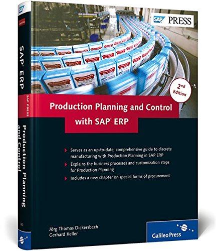 9781592293605: Production Planning and Control with SAP ERP