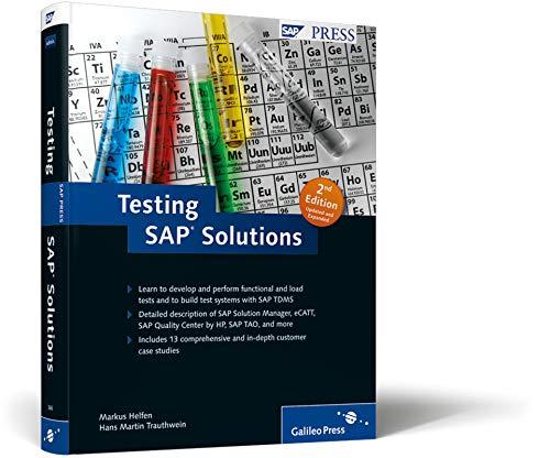 9781592293667: Testing SAP Solutions