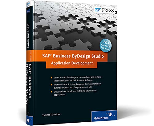 9781592293674: SAP Business ByDesign Studio - Application Development