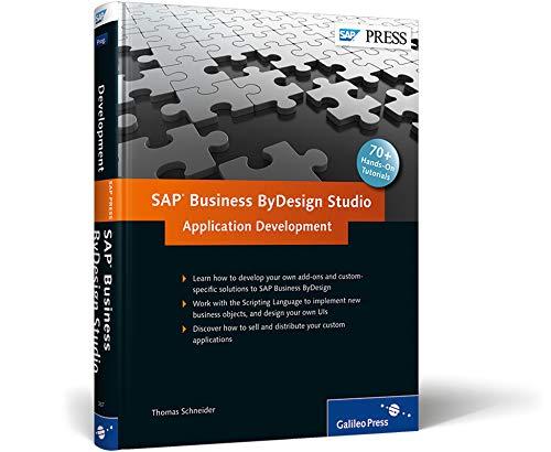 9781592293674: SAP Business ByDesign Studio - Application Development