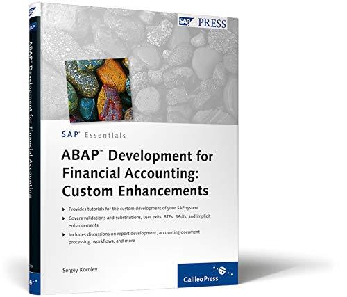 9781592293704: ABAP Development for Financial Accounting: Custom Enhancements