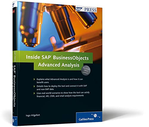 9781592293711: Inside SAP BusinessObjects Advanced Analysis