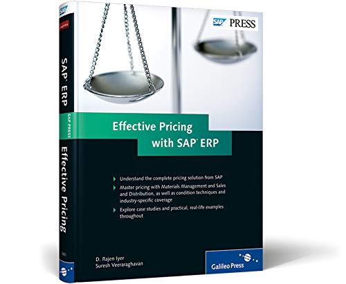 9781592293803: Effective Pricing with SAP ERP