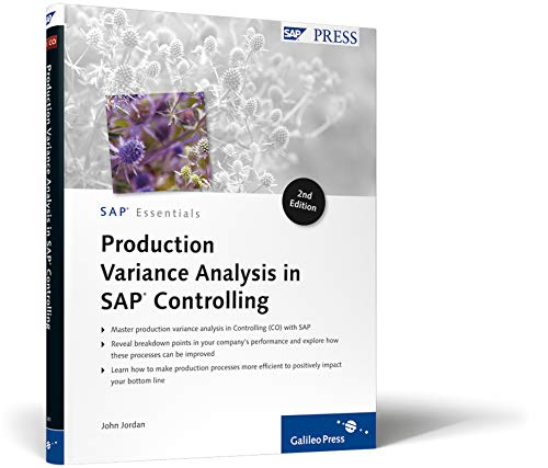 9781592293810: Production Variance Analysis in SAP Controlling