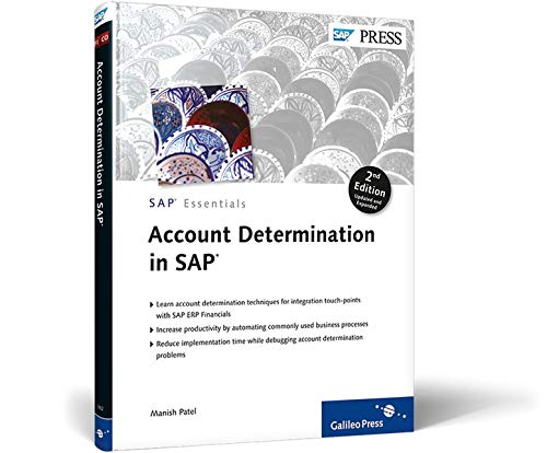 9781592293827: Account Determination in SAP: Learn important account determination techniques