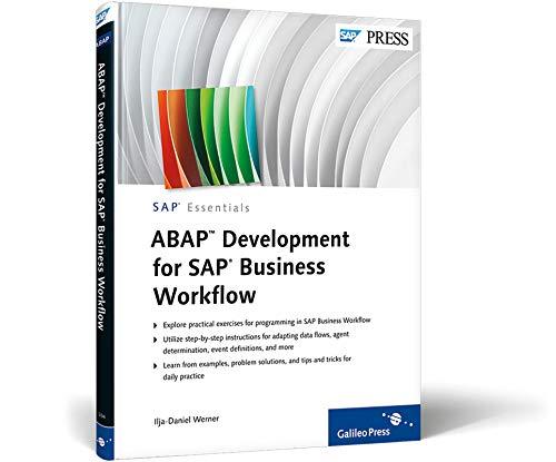 ABAP Development for SAP Business Workflow