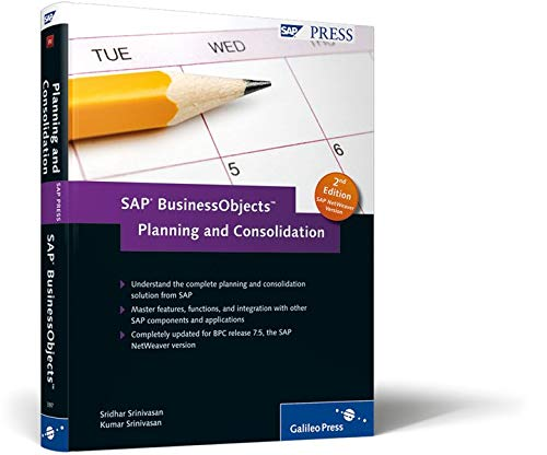 9781592293971: SAP BusinessObjects Planning and Consolidation