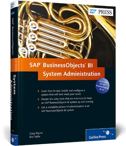 9781592294046: SAP BusinessObjects BI System Administration