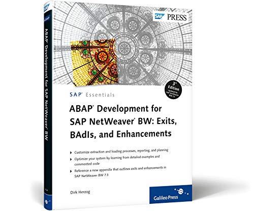 9781592294244: ABAP Development for SAP NetWeaver BW: Exits, BAdIs, and Enhancements (SAP Essentials)