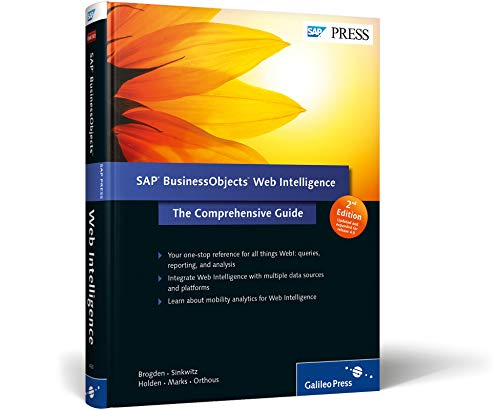 9781592294305: SAP BusinessObjects Web Intelligence: The Comprehensive Guide