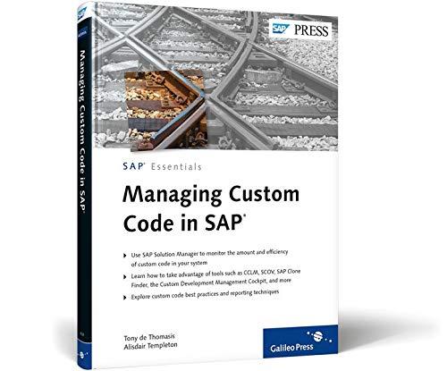 9781592294367: Managing Custom Code in SAP (SAP Essentials)