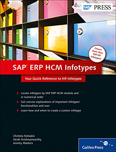 9781592294428: SAP ERP HCM Infotypes: Your quick reference to HR Infotypes in SAP ERP HCM