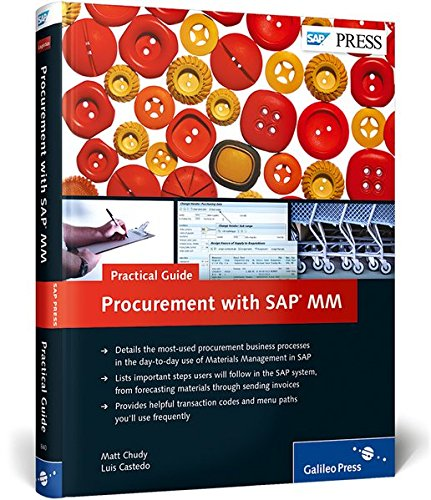 9781592298402: Procurement with SAP MM: Practical Guide (1st Edition) (SAP PRESS)