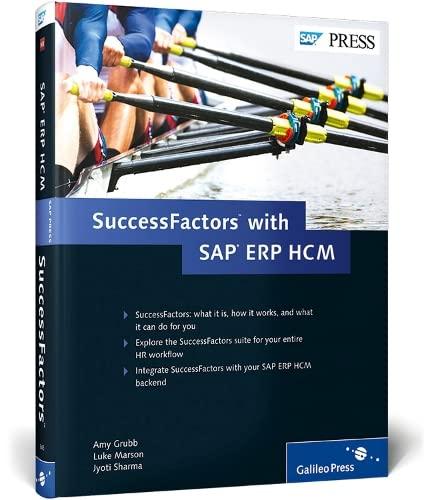 SuccessFactors with SAP ERP HCM: Grubb, Amy; Marson, Luke; Sharma, Jyoti