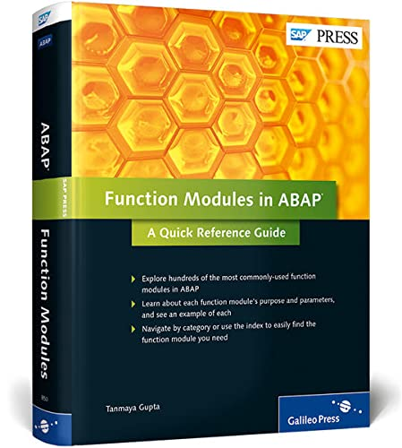 9781592298501: Function Modules in ABAP: A Quick Reference Guide