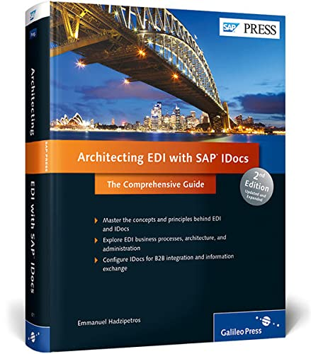 9781592298716: Architecting EDI with SAP IDocs: The Comprehensive Guide