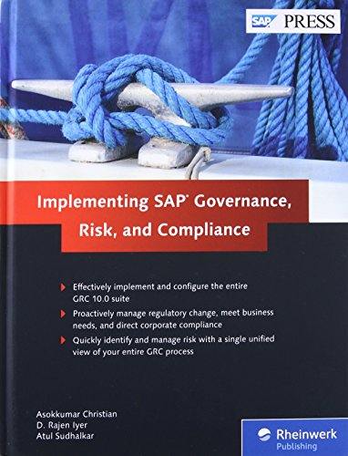 Implementing SAP Governance, Risk, and Compliance: Asokkumar Christian