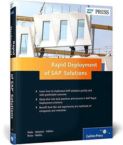 Rapid Deployment of SAP Solutions: Bernd Welz