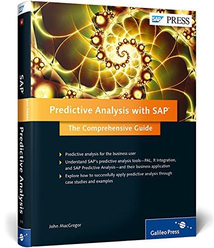 Predictive Analysis with SAP: John MacGregor