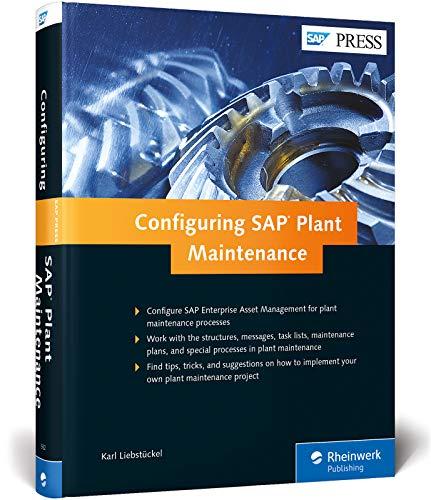 9781592299324: Configuring SAP Plant Maintenance