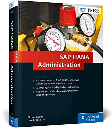 9781592299522: SAP HANA Administration (HANA Admin) (SAP PRESS)