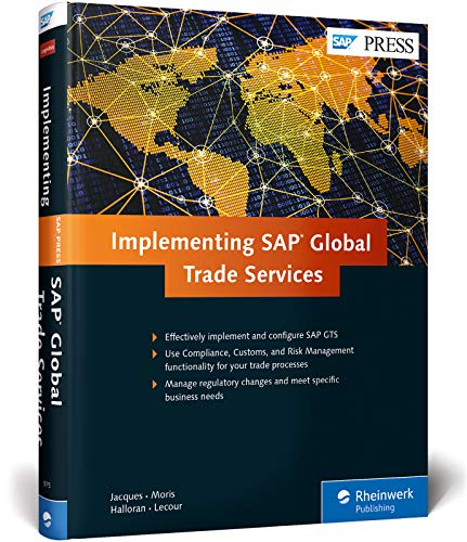 Implementing SAP Global Trade Services: Yannick Jacques