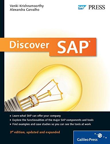Discover SAP (Paperback): Venki Krishnamoorthy., Alexandra Carvalho