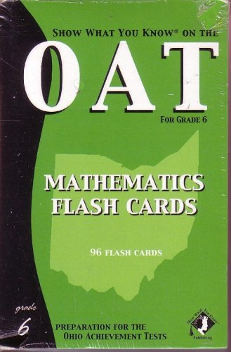 9781592300853: Show What You KNow on the Oat Mathematics Flash Cards