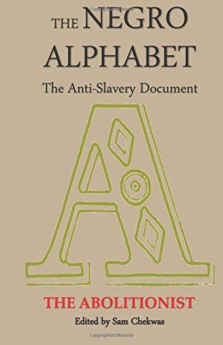 9781592326150: The Negro Alphabet: The Anti-Slavery Document