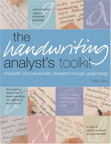 9781592331246: Handwriting Analyst's Toolkit: Character And Personality Revealed Through Graphology