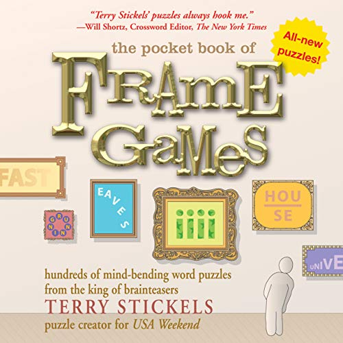 9781592331956: The Pocket Book of Frame Games: Hundreds of Mind-Bending Word Puzzles from the King of Brain Teasers!