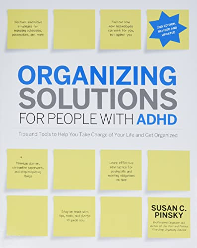 9781592335121: Organizing Solutions for People with ADHD, 2nd Edition-Revised and Updated: Tips and Tools to Help You Take Charge of Your Life and Get Organized