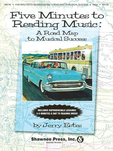 9781592351145: Five Minutes to Reading Music: A Roadmap to Musical Success (Music Activities & Puzzles)