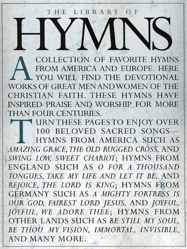 9781592351428: The Library of Hymns