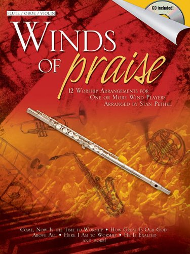 9781592352043: Winds of Praise: for Flute, Oboe or Violin