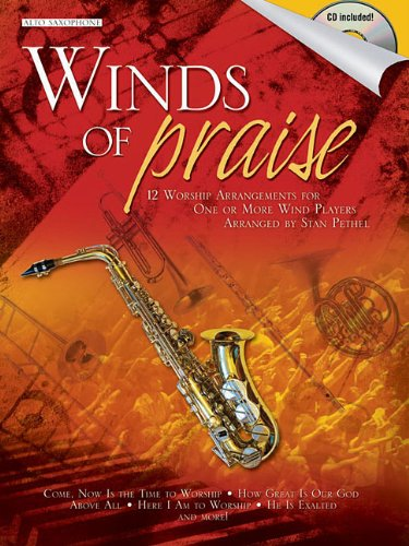 9781592352081: Winds of Praise: for Alto Sax (Shawnee Press)